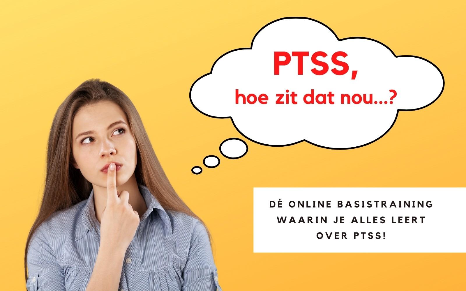 PTSS, Hoe zit dat nou…? Poster